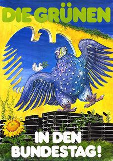 1983, Wahlplakat Bundestagswahl