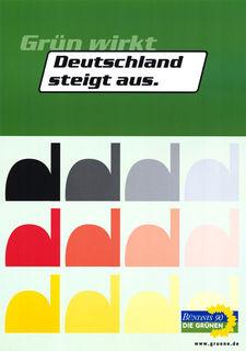 Plakat Bundestagswahl