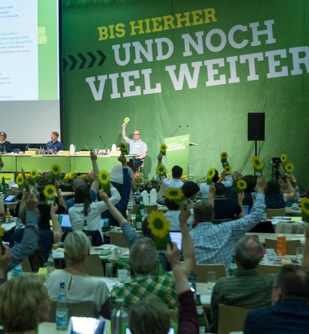 Die Delegierten der LDK Wolfenbüttel stimmen über das Programm zur Landtagswahl 2018 ab.