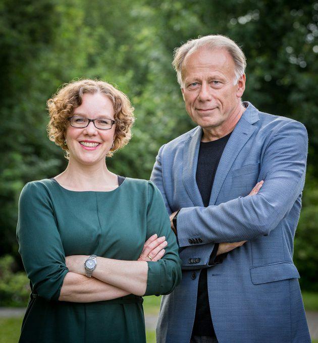 Julia Verlinden und Jürgen Trittin: Die niedersächsischen Spitzenkandidierenden zur Bundestagswahl 2017.