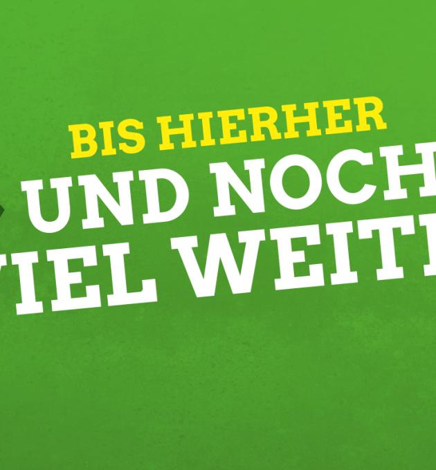 Bis hierher und noch viel weiter: Grünes Motto in Niedersachsen 2017