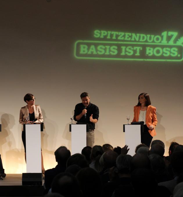 Urwahlforum mit Katrin Göring-Eckardt, Cem Özdemir, Anton Hofreiter und Robert Habeck