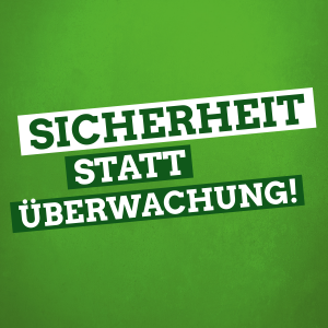 Sicherheit statt Überwachung: Für Sicherheit und Bürgerrechte in Niedersachsen