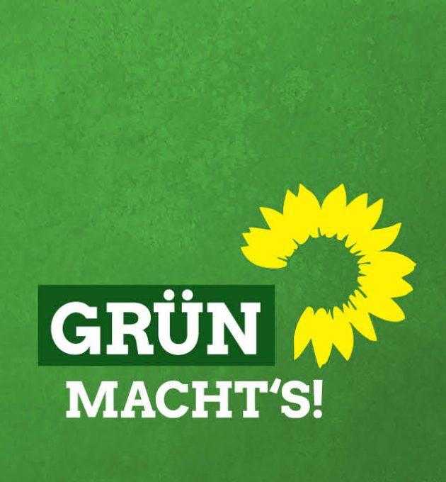 Grün: saubere Sache für die Landtagswahl in Niedersachsen.
