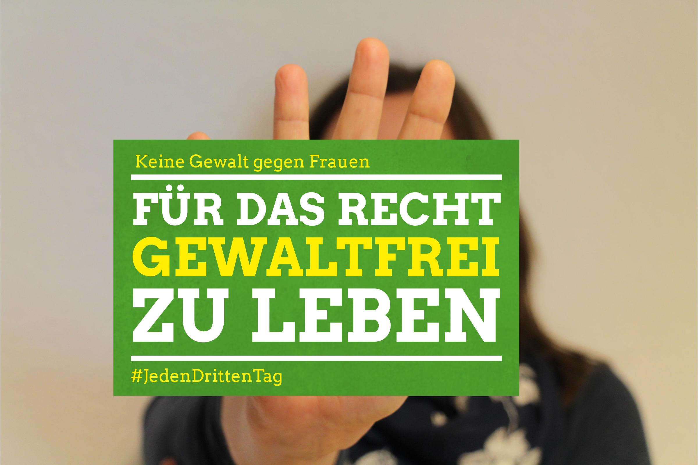 NEIN zu Gewalt gegen Frauen! - Grüne Niedersachsen