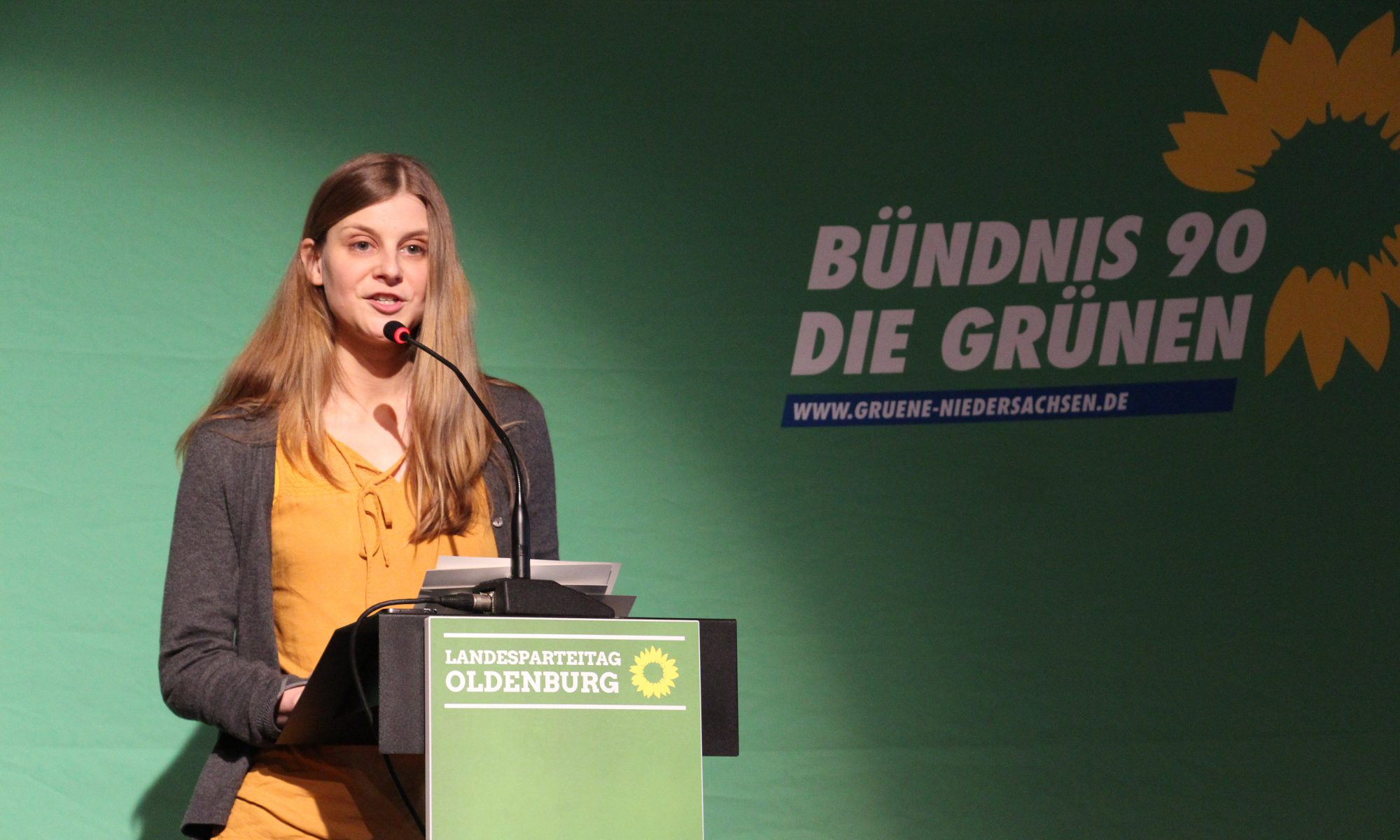 Anne Kura neue Landesvorsitzende - Grüne Niedersachsen