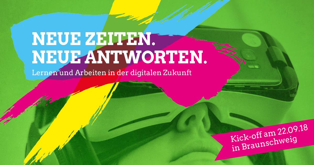Kick Off Lernen Und Arbeiten In Der Digitalen Zukunft