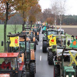 Auch nach dem Gorleben-Treck vor 40 Jahren wurden Trecker für den Protest gegen Atomkraft eingesetzt. (Foto von 2010)
