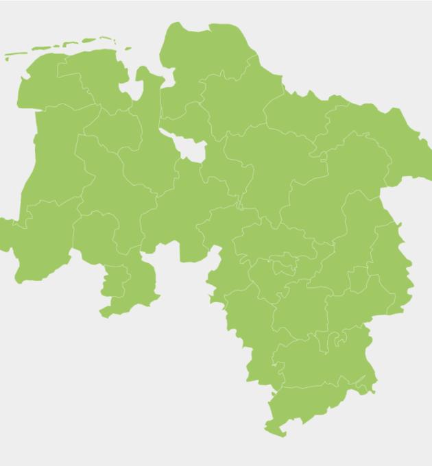 Karte Bundestagswahlkreise